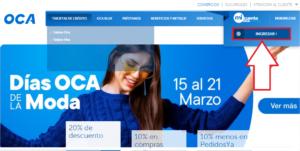 ¿De qué sirve pagar OCA online paso 1