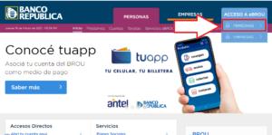Como debe hacer una persona cuando prescribe una deuda de tarjeta de crédito en Uruguay paso 1