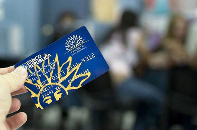 solicitar tarjeta uruguay social